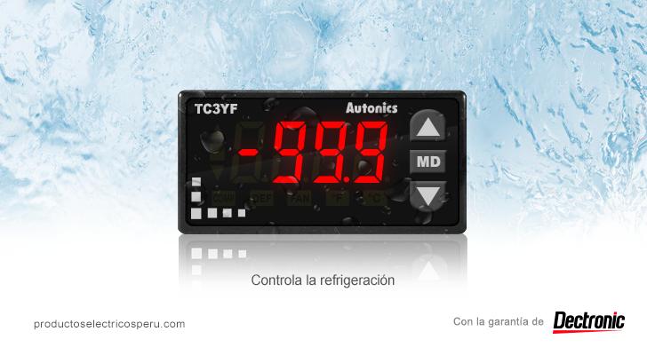 Controlador de temperatura Serie TC3YF - Autonics