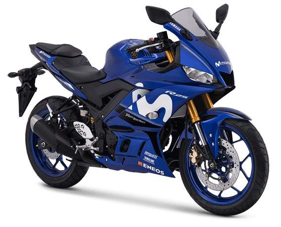 New Yamaha R25 Livery Movistar