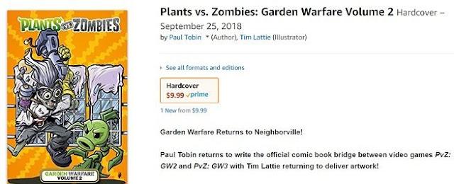 Plants vs Zombies: Garden Warfare 3 se filtra por Amazon