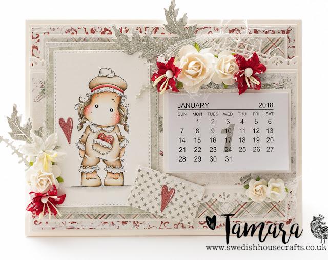 DAY 7: 2018 Calendar | By Tamara