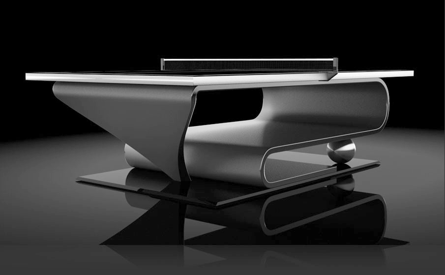 Luxurious Premier Custom Made Table Tennis Tables From Eleven Ravens.