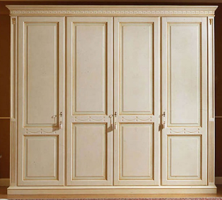 Model lemari jati 4 pintu minimalis terbaru