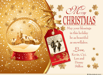 Doc612792 Sample Christmas Card Doc1300962 Sample Christmas – Christmas Wishes Samples