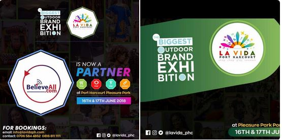 LAVIDA PORT HARCOURT:The Biggest Outdoor Brand Exhibition coming your way this June 16th-17th 2018