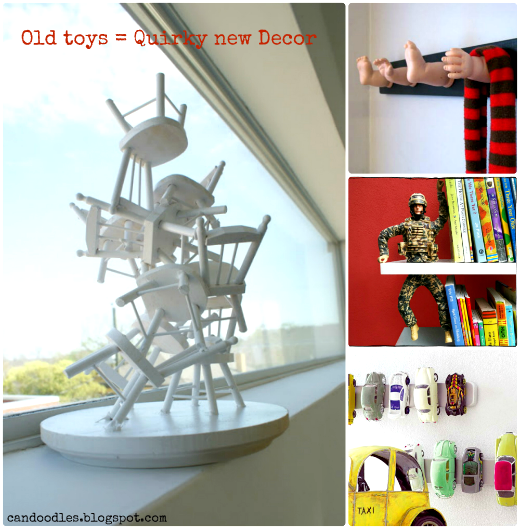 new uses for old toys