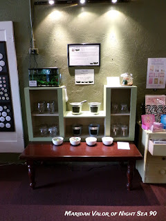 Something Perfect gift shop; see more on my blog. This is where I bought my latest marimo. It is my favorite spot in the shop.