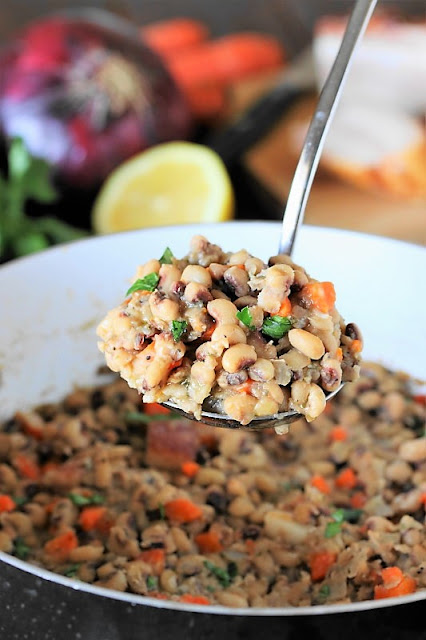 New Year's Day Black Eyed Peas Recipe image