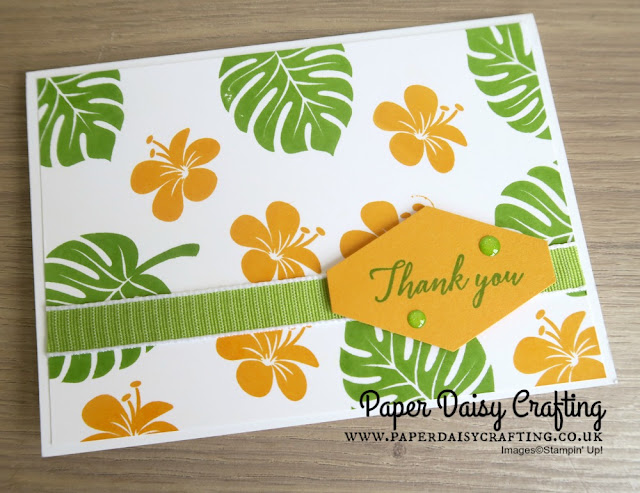 Tropical Chic stamp set Stampin Up
