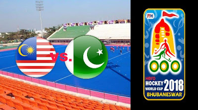Live Streaming Malaysia vs Pakistan Hoki Piala Dunia 5.12.2018
