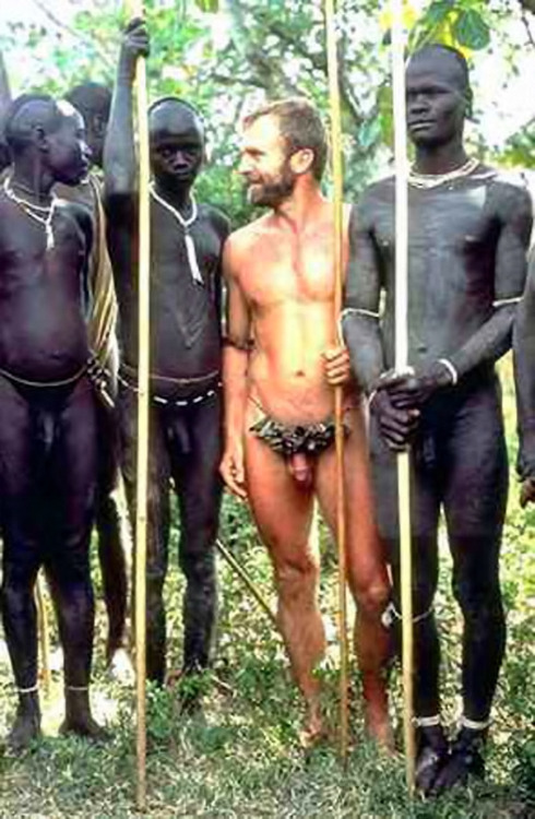 image Tribal africans with uncut big dick gay