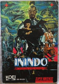 Inindo - Way of the Ninja - Manual portada