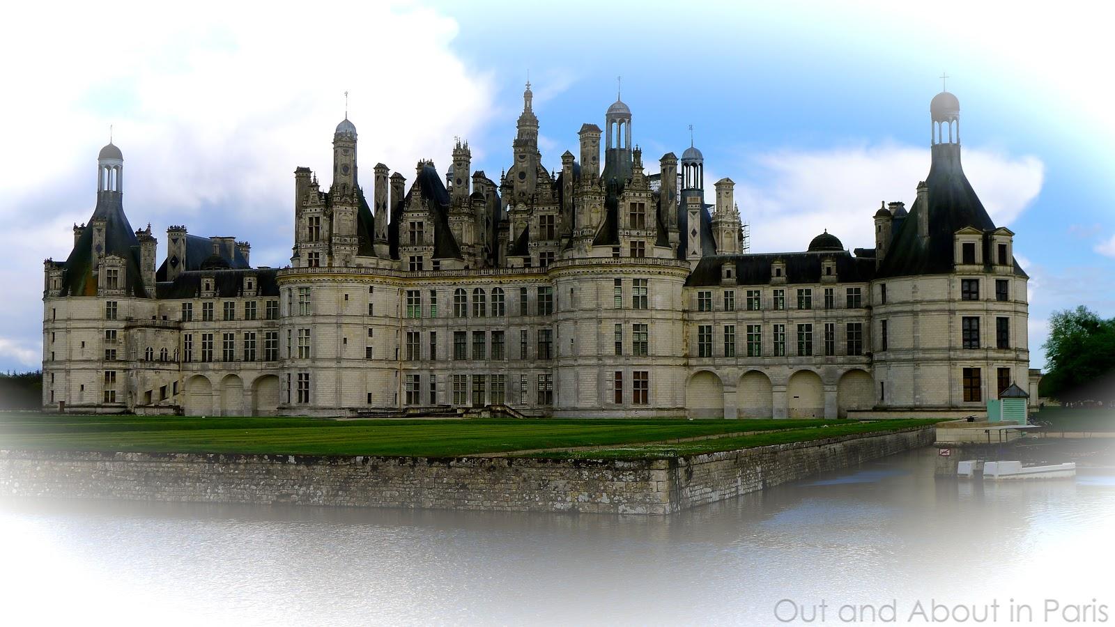 Favoris Château de Chambord - the largest castle in the Loire Valley RZ71