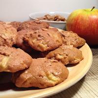 Biscoitos de maçã e cereais