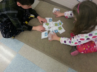 commutative property- Holly Jolly Holiday Centers in Action