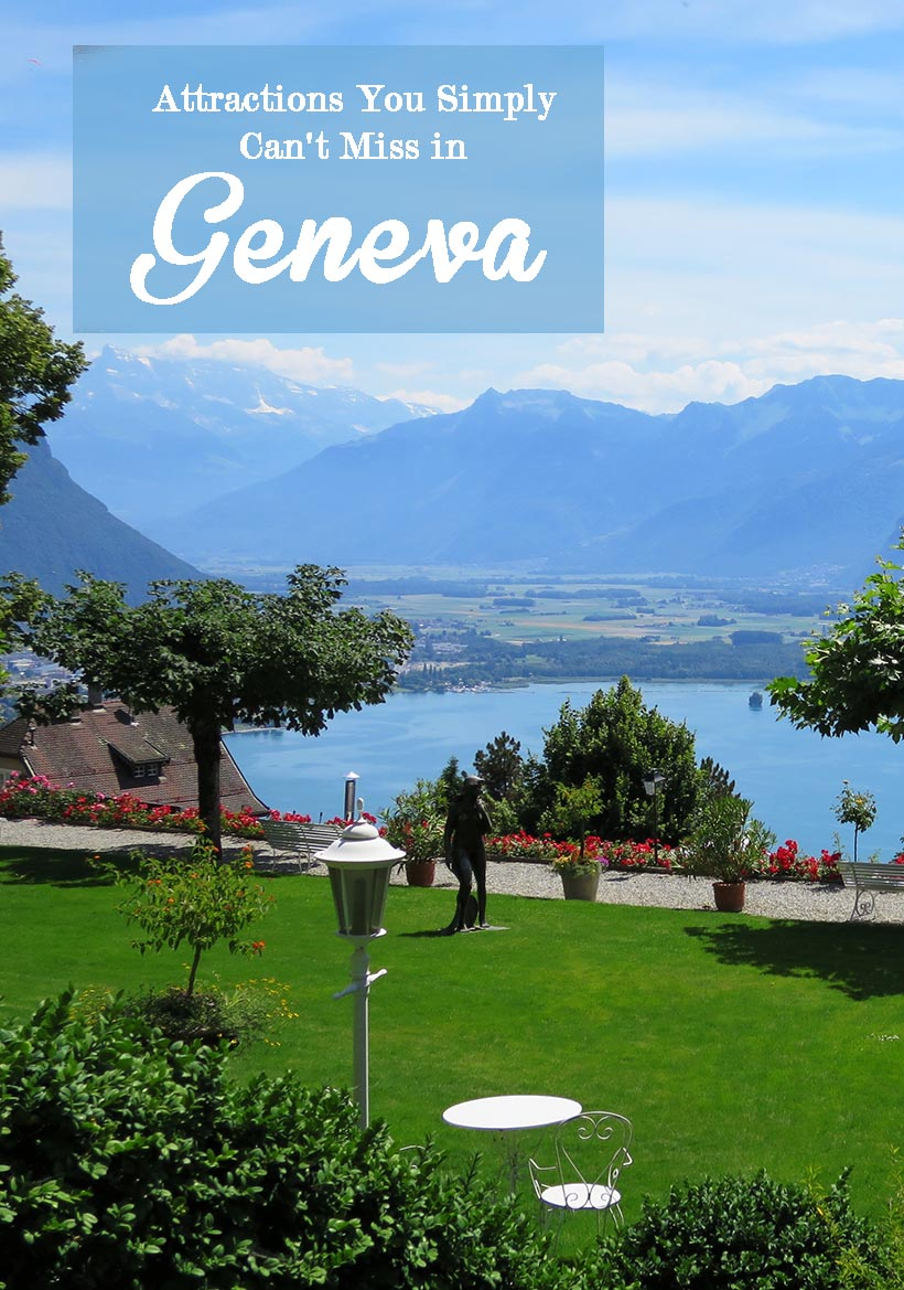 Geneva is one of the finest cities in the world, so if you're thinking about holidaying there this year, let's take a look at some of the attractions you simply can't miss.