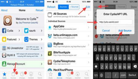 Cydia Tweak AppSync