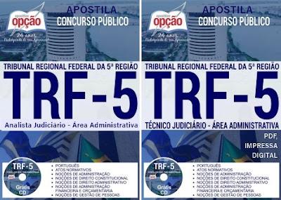 Apostila para Concurso TRF5 - Tribunal Regional Federal da 5ª Região