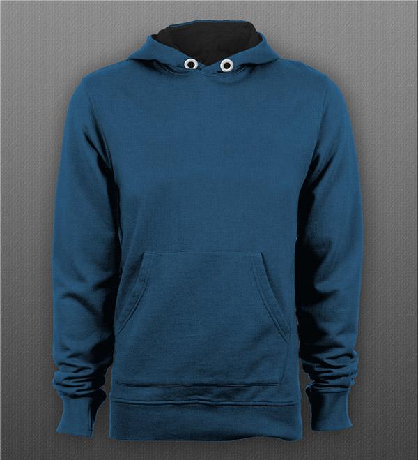 Free Download Mockup Jacket Gratis - Pull Over Hoodie Mockup PSD
