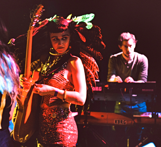 MusicLoad.Com presents Hiatus Kaiyote filmed live performing Shaolin Monk Motherfunk