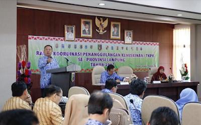 Pemerintah Daerah Se-Lampung Teken Kerja Sama Penanggulangan Kemiskinan