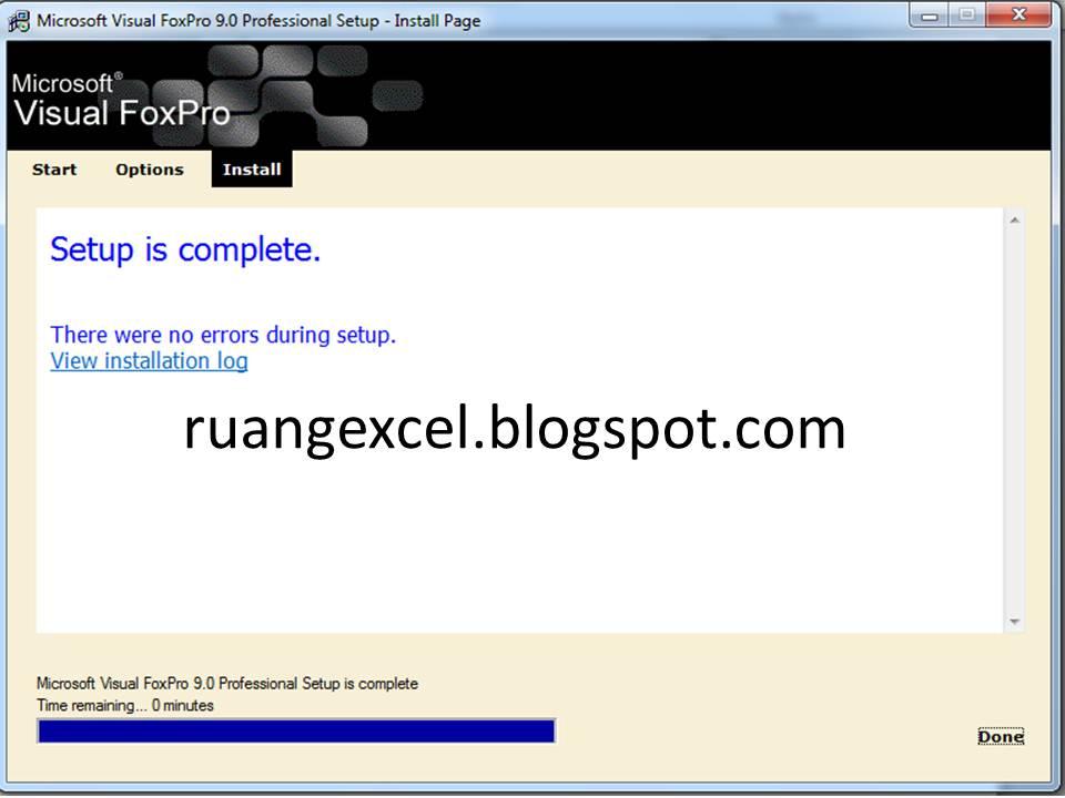 Microsoft Visual FoxPro 9 0 ISO