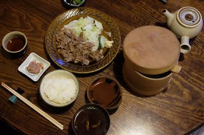 鳥取の郷土料理 たくみ割烹店 鳥取和牛バター焼セット