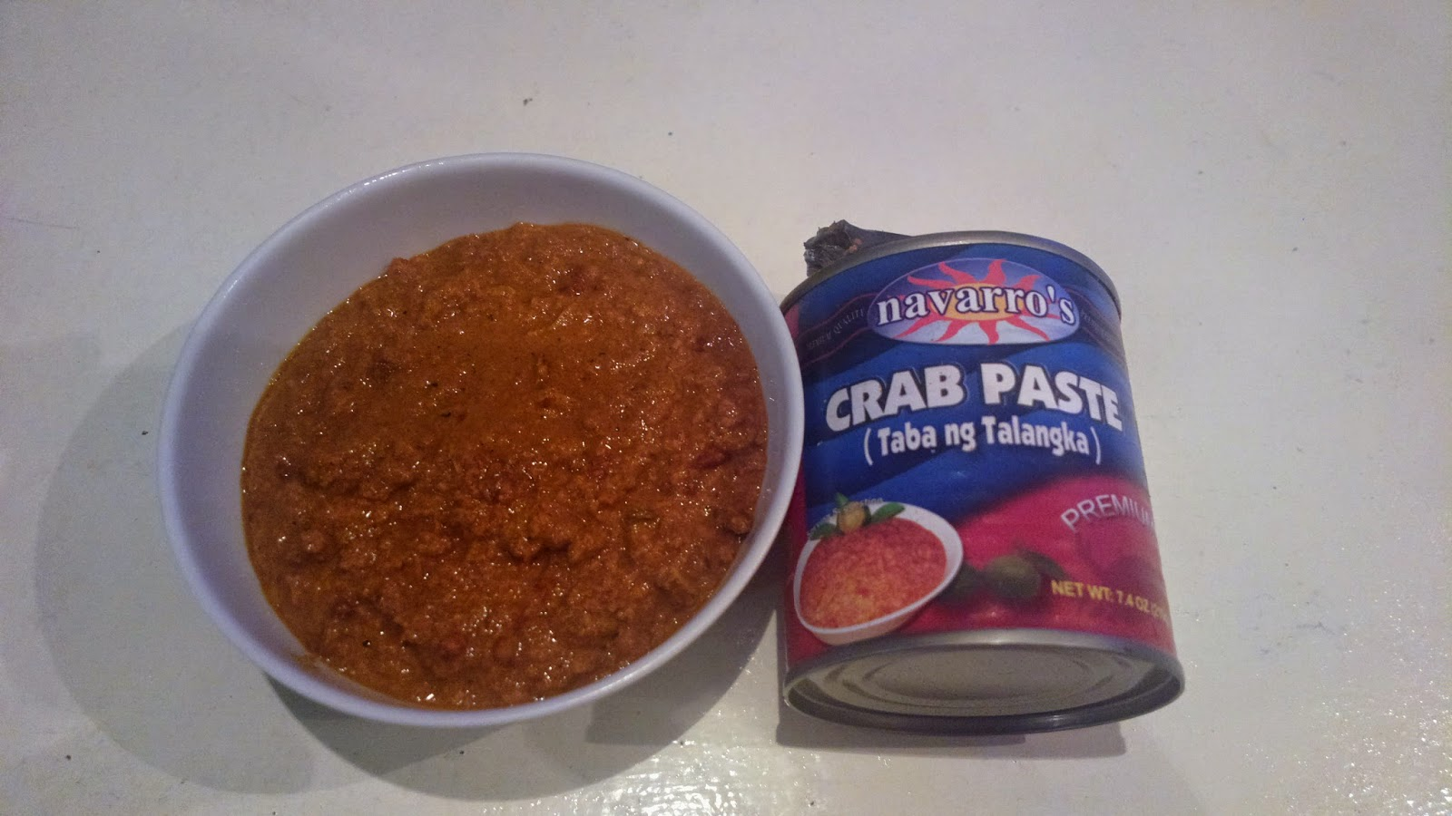crab paste