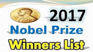 Nobel Prize Winner 2017 List PDF Download