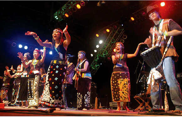 Rainforest World Music Festival  Review