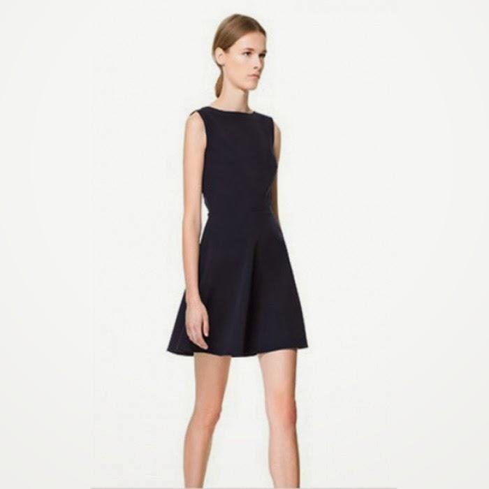 db1ce7d3 zara black skater dress – Little Black Dress | Black Lace Bridesmaid ...