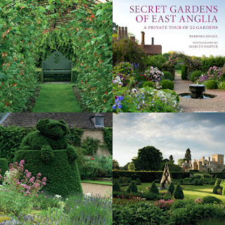 Secret gardens of East Anglia collage