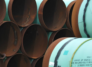TransCanada is dealing with an oil spill on one pipeline, and its planned Keystone XL Pipeline expansion is facing low oil prices and opposition that could scuttle the project. (Credit: Mandel Ngan/AFP/Getty Images) Click to Enlarge.
