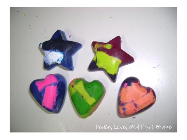 Melting crayons into fun shapes