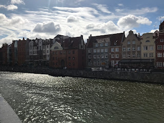 view across gdansk canal