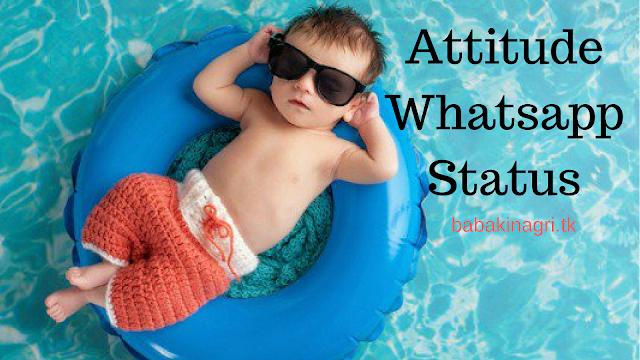Attitude Whatsapp Status
