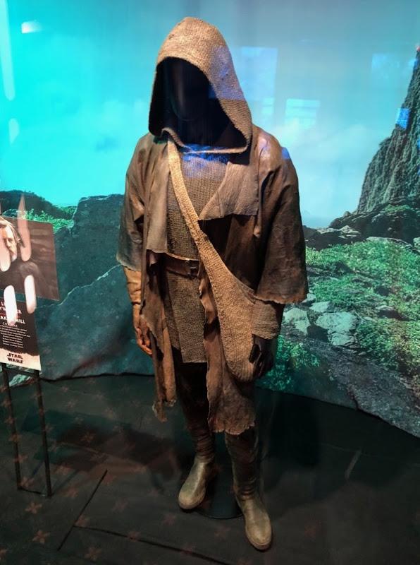 Star Wars Last Jedi Luke film costume