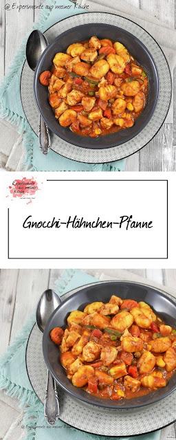 Gnocchi-Hähnchen-Pfanne | Rezept | Essen | Kochen