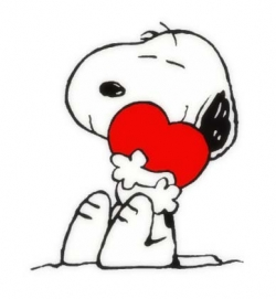 Grab These Snoopy Valentine Cards By Clicking And Saving On Your Desktop  For Further Forwarding To Others.