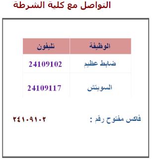 بـ الرقم القومي أو رقم الملف | نتائج اختبار كلية الشرطة 2017 | 2018