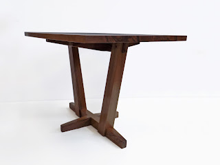 Small Coffee Table made of walnut in a Japanese style