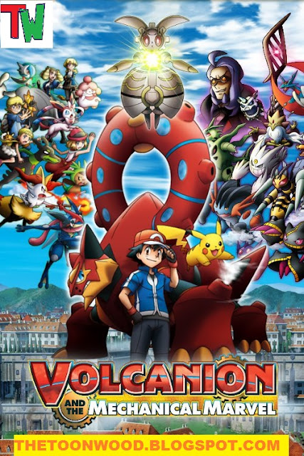 Pokémon the Movie: Volcanion and the Mechanical Marvel (2016) hindi dubbed
