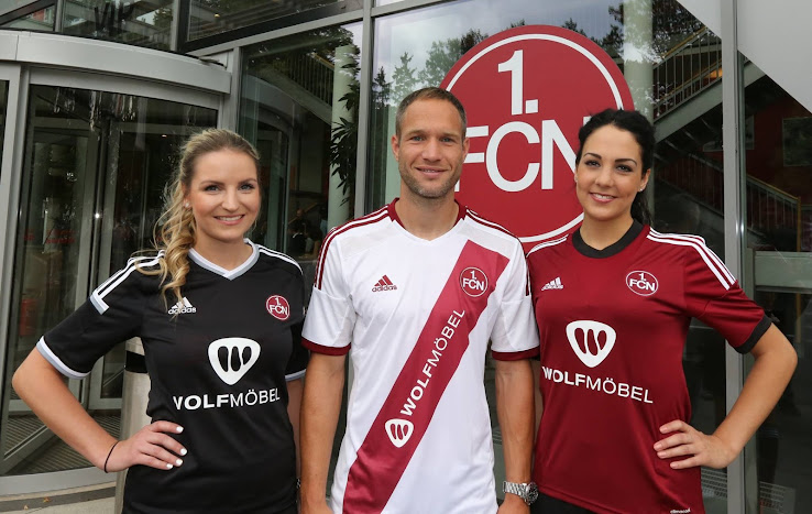 fc nuremberg Match coronó 14//15-430-club de logotipo 1
