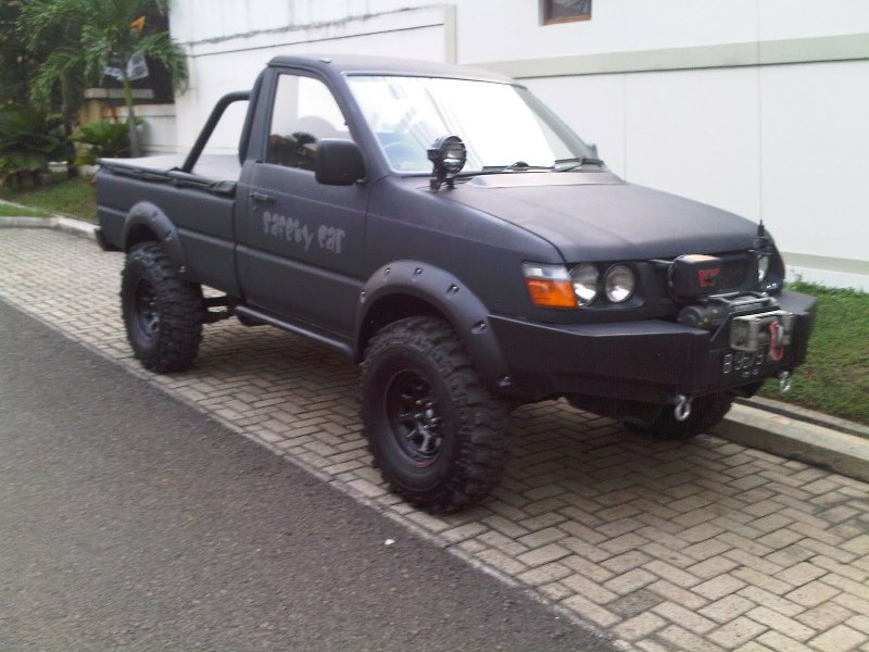 Modifikasi Kijang Pick Up Ceper