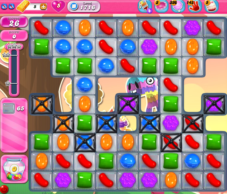 Candy Crush Saga 1716