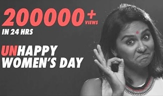 Unhappy Women's Day ft. Lakshmipriyaa | FullyFearless