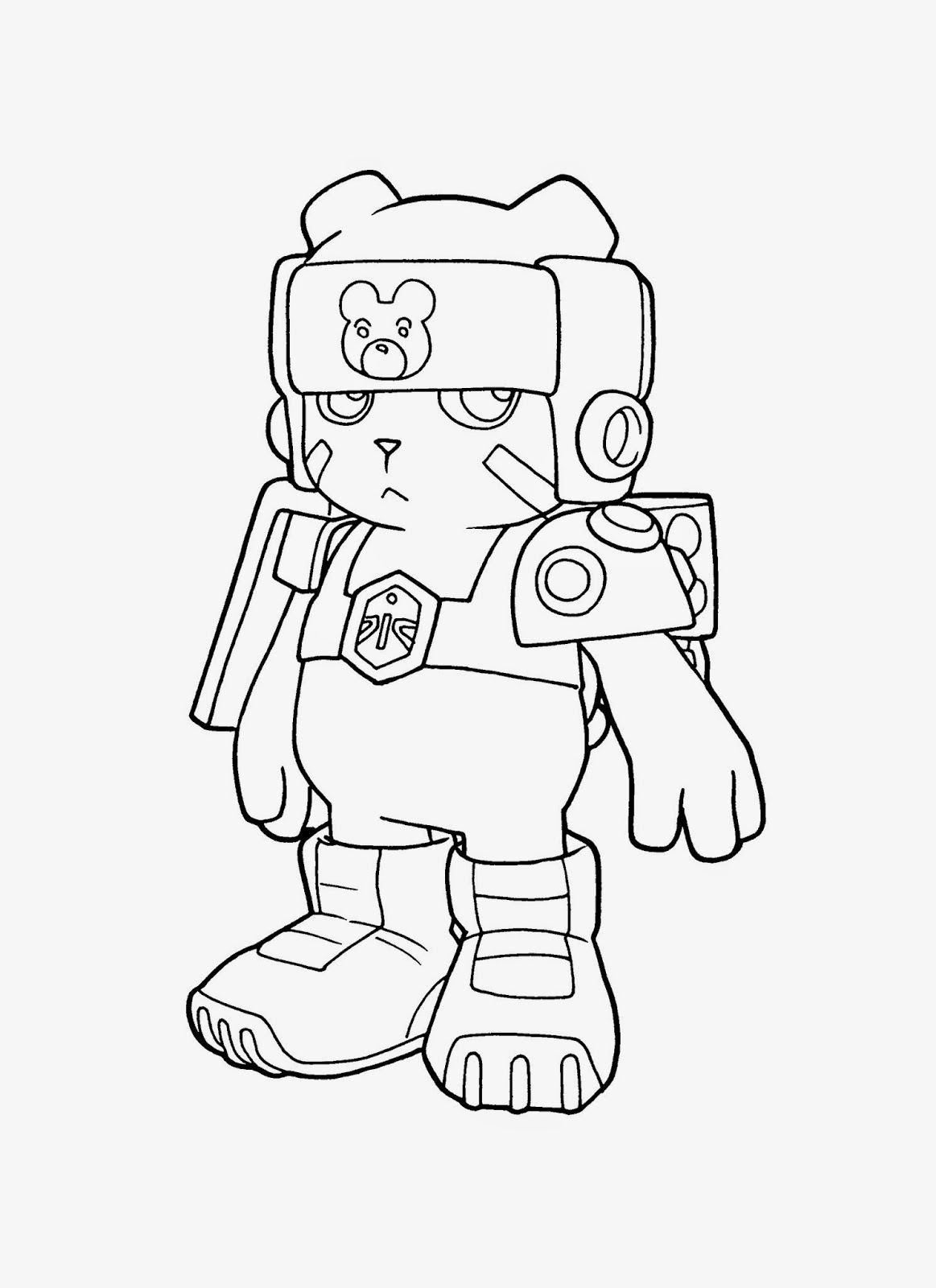 digimon data squad coloring pages - photo#36