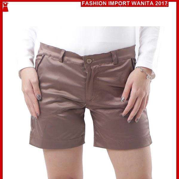 ADR076 Celana Tua Coklat Pendek Hotpant Import BMGShop