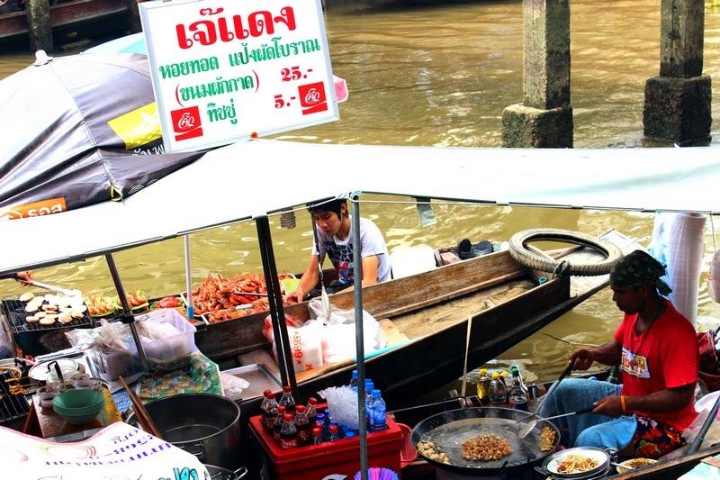 Schwimmenden Markt von Amphawa