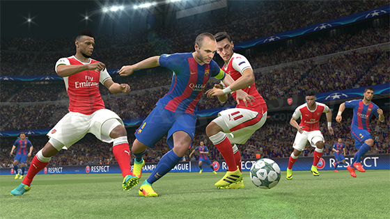 Pro Evolution Soccer 2017 Full Version Gameplay