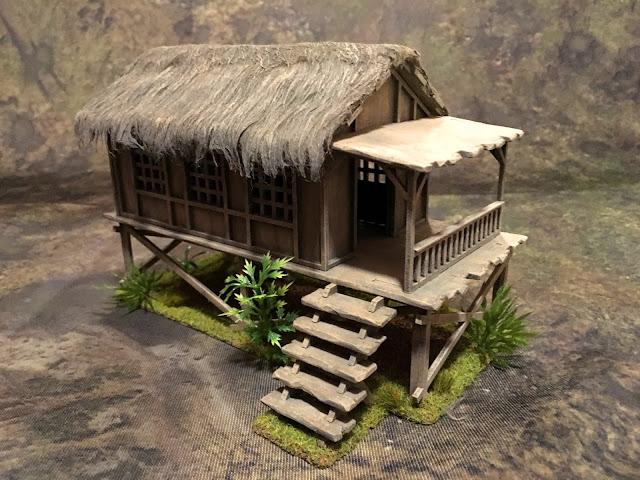 Sarissa Planked House K003